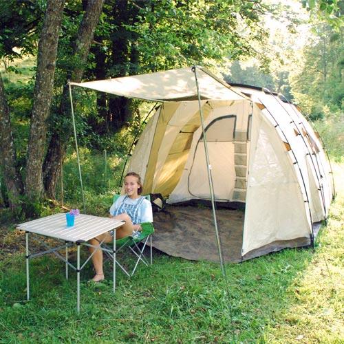 camping am H.O.F.